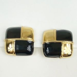 Rare Vintage Givenchy Clip On Earrings